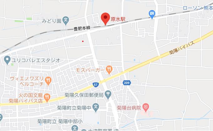 勤務地地図